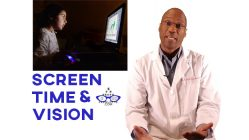 "Dr. Burke, a Grove, OK eye doctor, answers the question: ""How does screen time affect my child's vision""?"